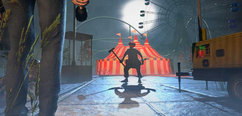 Horror Clown Scary Ghost Game