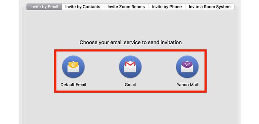 Invite Melalui Email