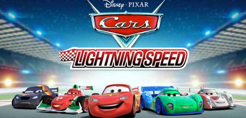 Lightning Speed Car Racing