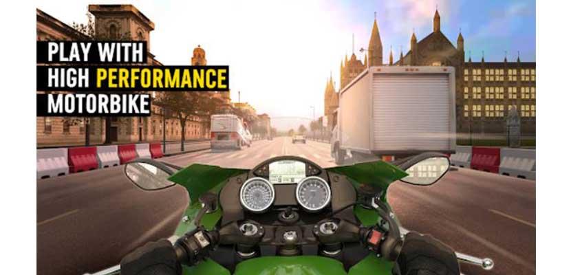 MotorBike Traffic Drag Racing