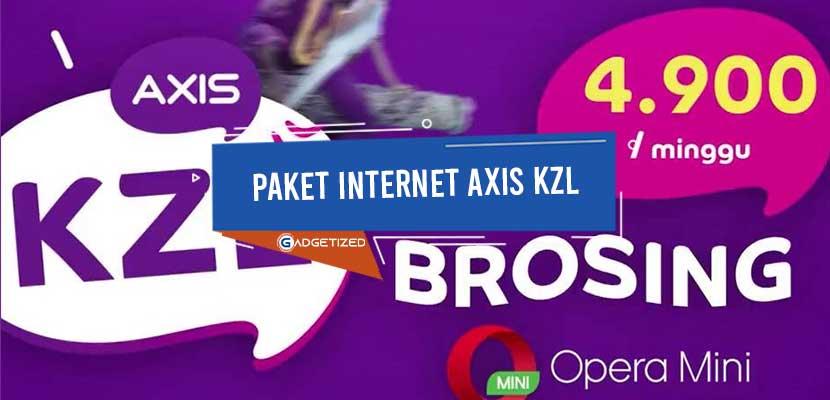 Paket Internet Axis KZL
