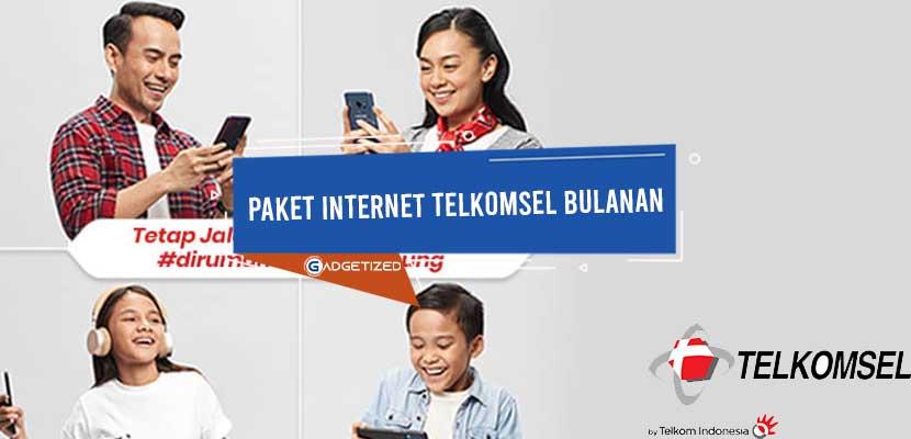 Paket Internet Telkomsel Bulanan