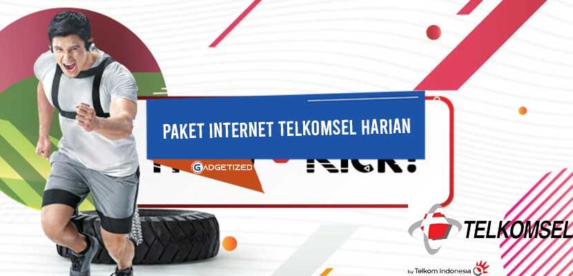 Paket Internet Telkomsel Harian