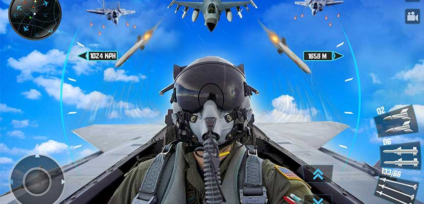 Perang Plane 3D