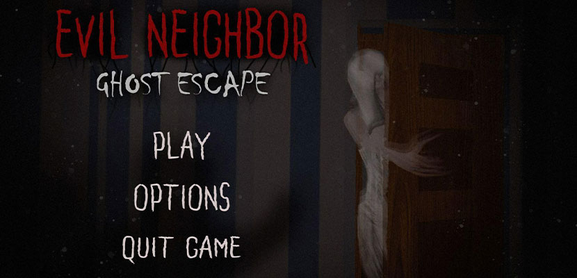 Scary Horror Games Evil Neighbor Ghost Escape