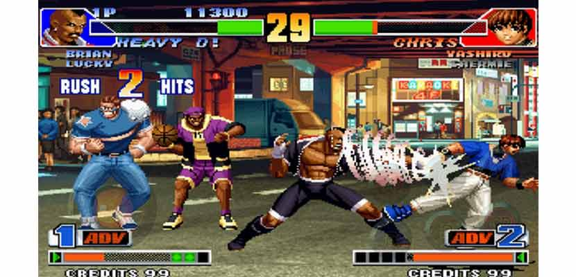 The King Of Fighter 98
