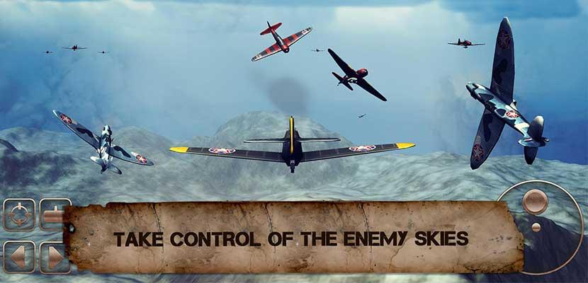 WW2 Pertempuran Pesawat 3D
