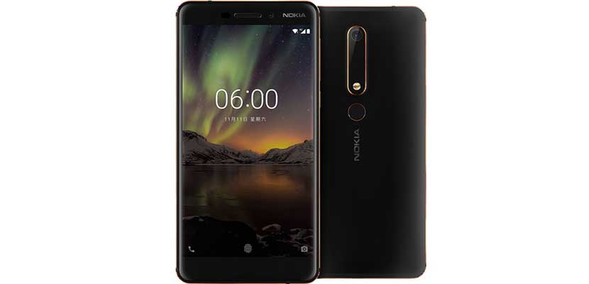 7. Nokia 6