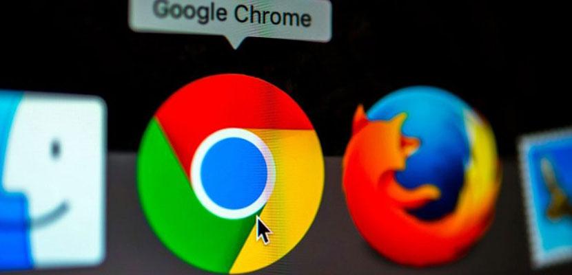 Lewat Google Chrome