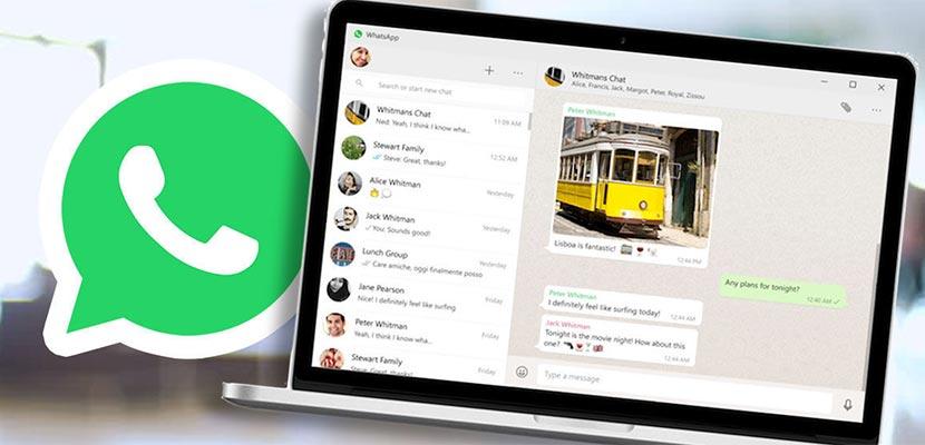 Menarik Pesan di WhatsApp Web