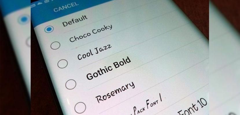 Mengganti Font Lewat Aplikasi Perappfont