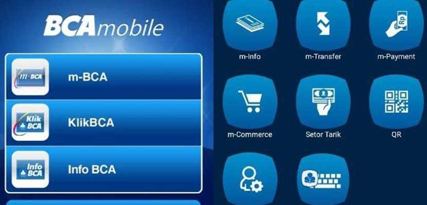 via Aplikasi BCA Mobile