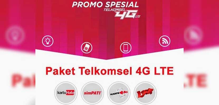 Cara Daftar Paket Telkomsel 4G