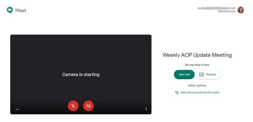 Cara Jadi Host di Google Meet
