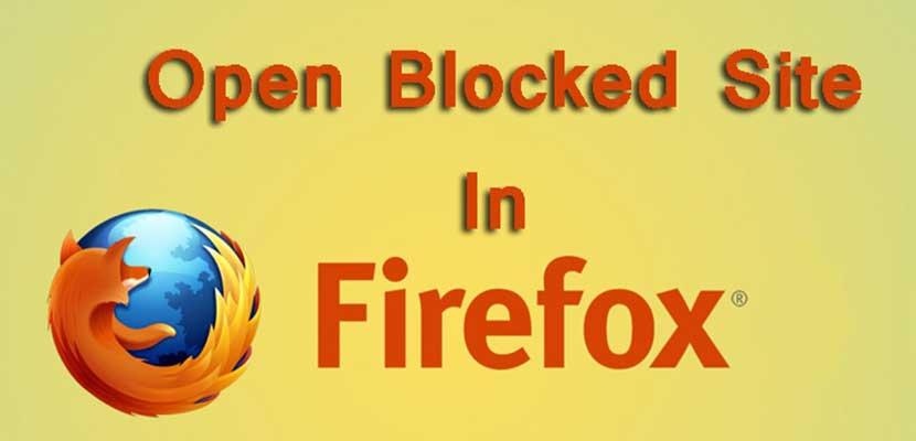 Cara Membuka Situs yang Diblokir Internet Positif di Mozilla
