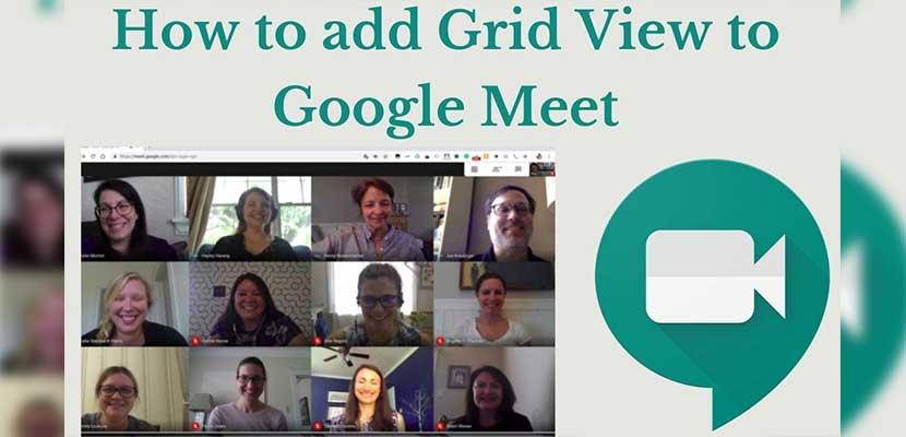 Cara Menggunakan Google Meet Grid View Lewat Laptop