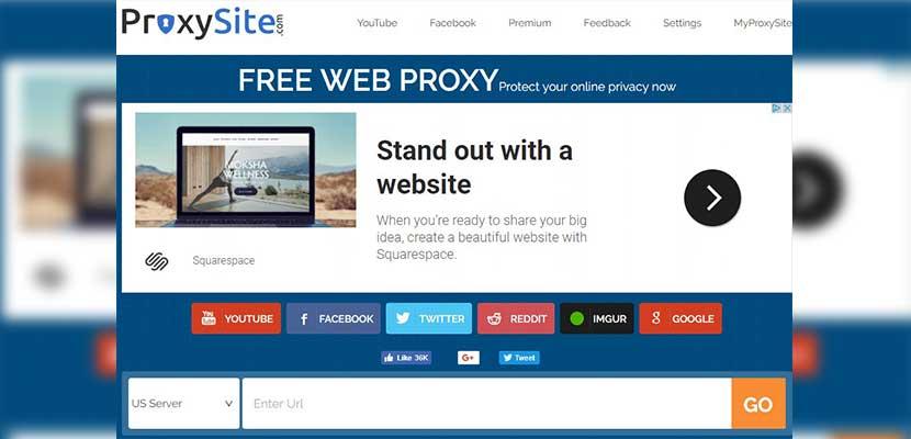 Membuka Situs yang Diblokir di Mozilla Tanpa Aplikasi