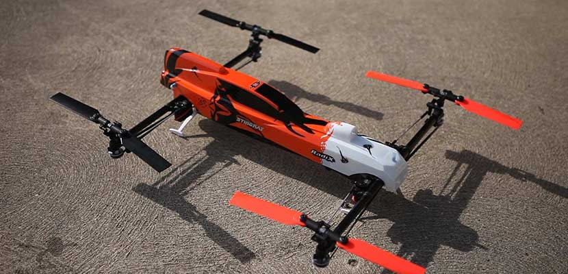 Nitro Powered Drone