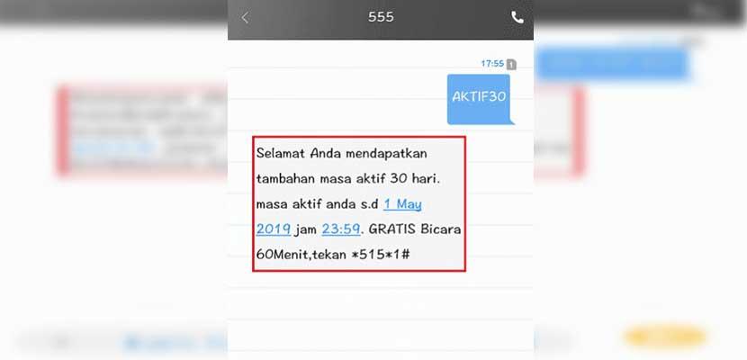 Paket Masa Aktif Indosat Ooredoo