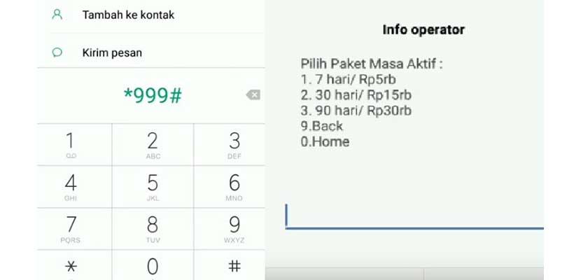 Paket Masa Aktif Telkomsel