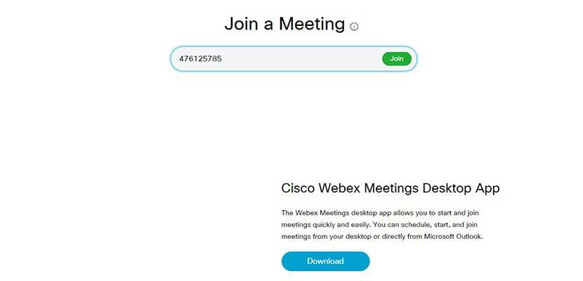 Cara Bergabung Meeting atau Kelas Online Webex