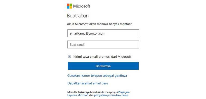 Cara Membuat Akun Microsoft Teams