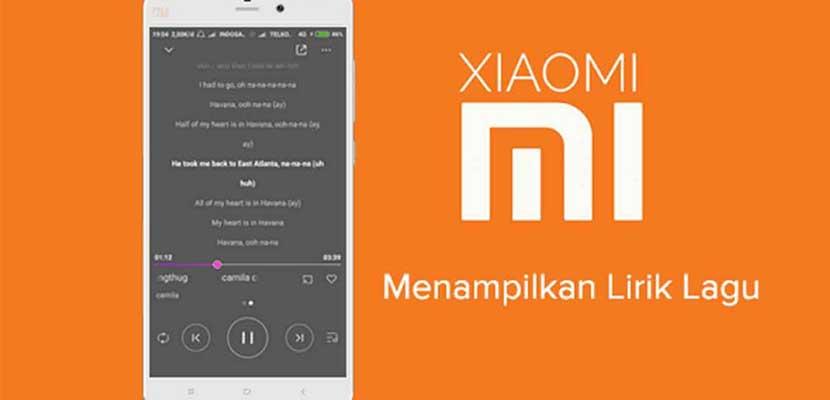 Cara Menambahkan Lirik Lagu di HP Xiaomi