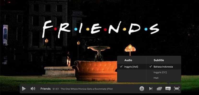 Cara Menampilkan Subtitle Indonesia di Netflix