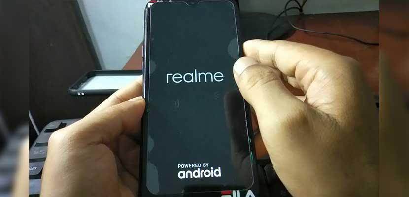 Cara Restart HP Realme C2