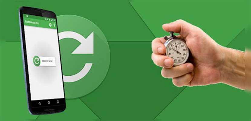 Cara Restart Melalui Aplikasi Fast Reboot