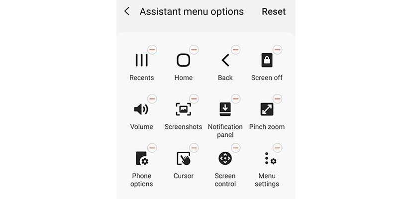 Cara Tangkap Layar Samsung A11 Menggunakan Menu Assistant