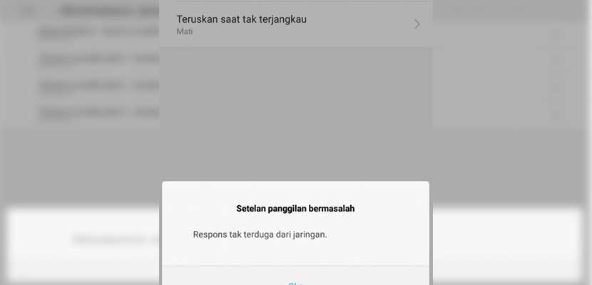 Kenapa Tidak Bisa Mematikan Fitur Penerusan Panggilan di HP Xiaomi