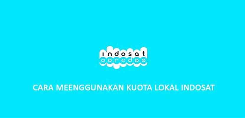 Cara Menggunakan Paket Data Lokal Indosat