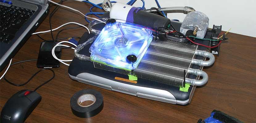Memanfaatkan Water Cooling System