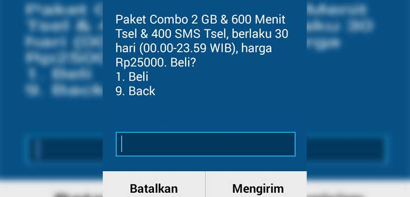 Paket Internet Telkomsel 25 Ribu Per Bulan