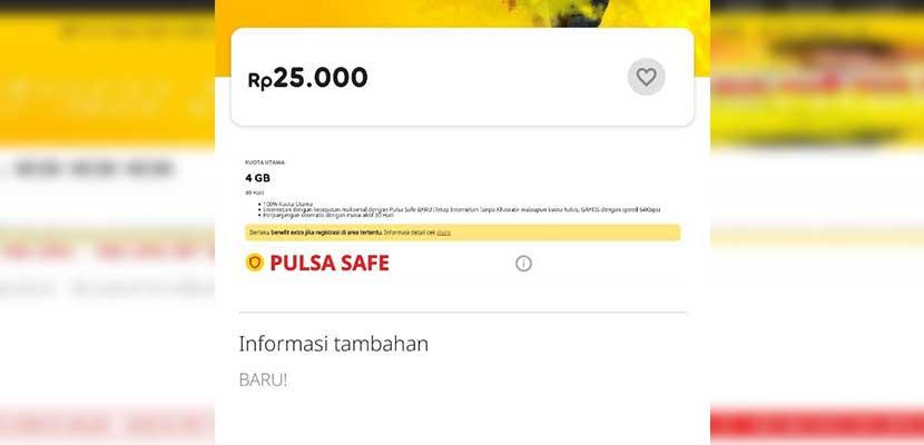 Syarat Ketentuan Paket Internet Indosat 25 Ribu