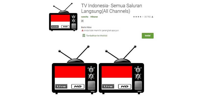 TV Indonesia Semua Saluran