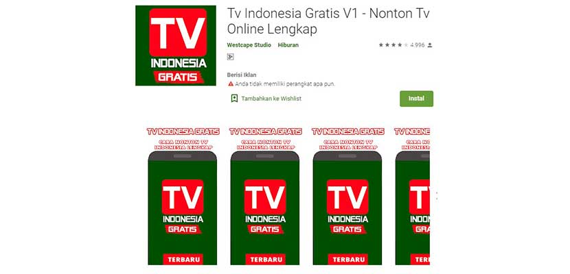 Tv Indonesia Gratis 2