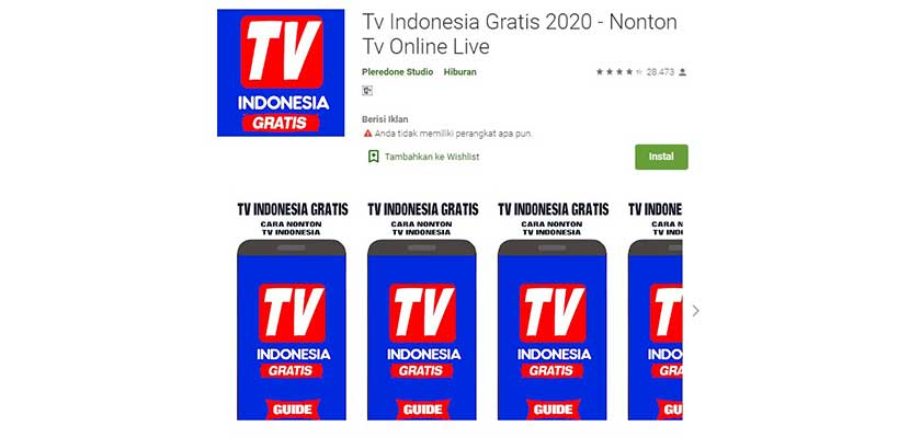 Tv Indonesia Gratis