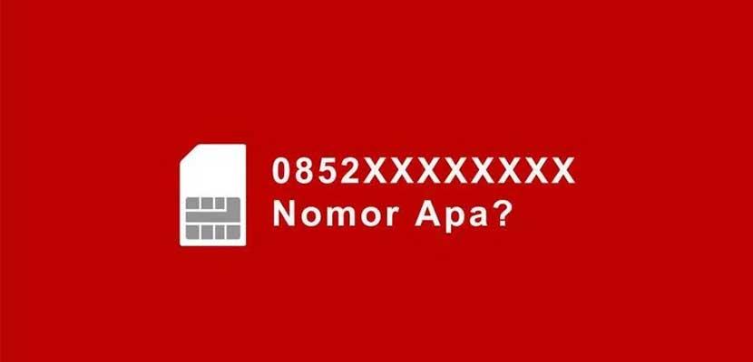 0852 Nomor Apa