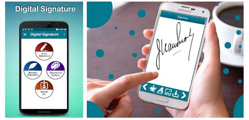 Digital Signature e Signature