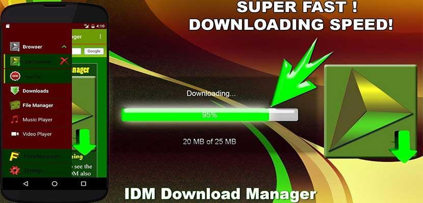 Menggunakan IDM Lite