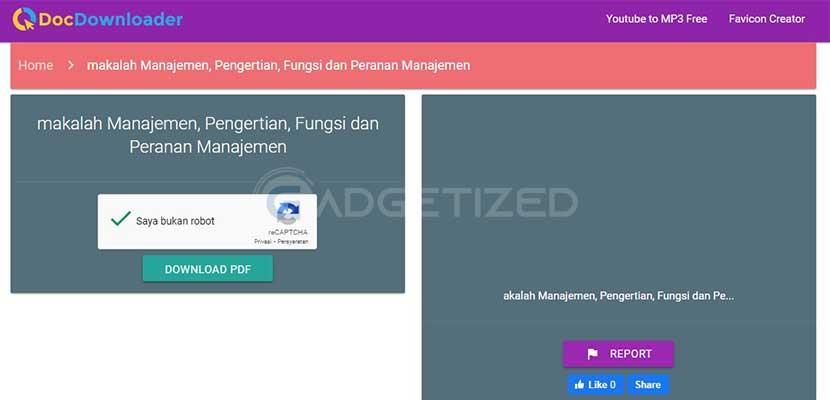 Pilih Download PDF