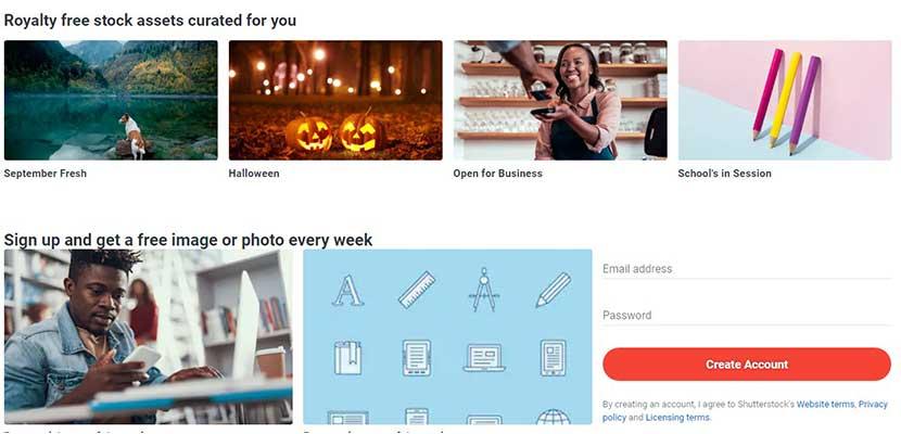 Pilih Foto yang ingin di Download