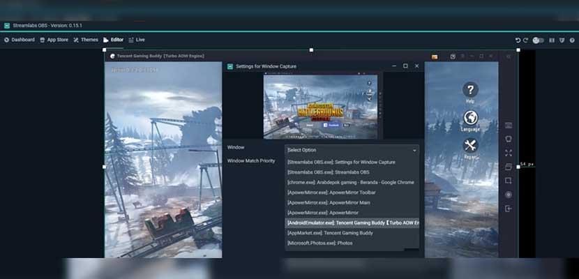 Pilih emulator PUBG Mobile yang sedang digunakan lalu pilih Done.