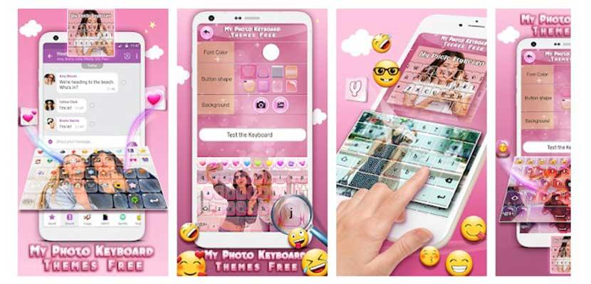 Aplikasi Keyboard Foto Sendiri dan Emoji