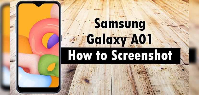 Begini Cara Screenshot Samsung A01 Paling Mudah Tanpa Aplikasi