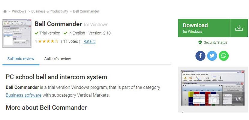 Bell Commander