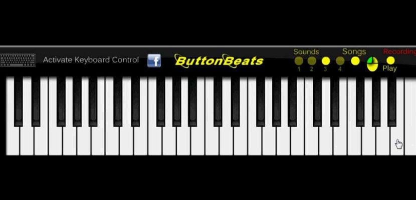 ButtonBeats Piano