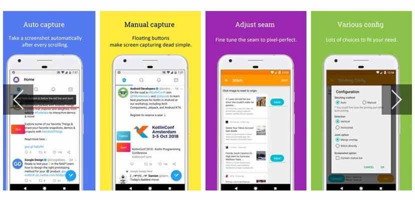 Cara Menangkap Tampilan Layar Panjang di WhatsApp via Aplikasi